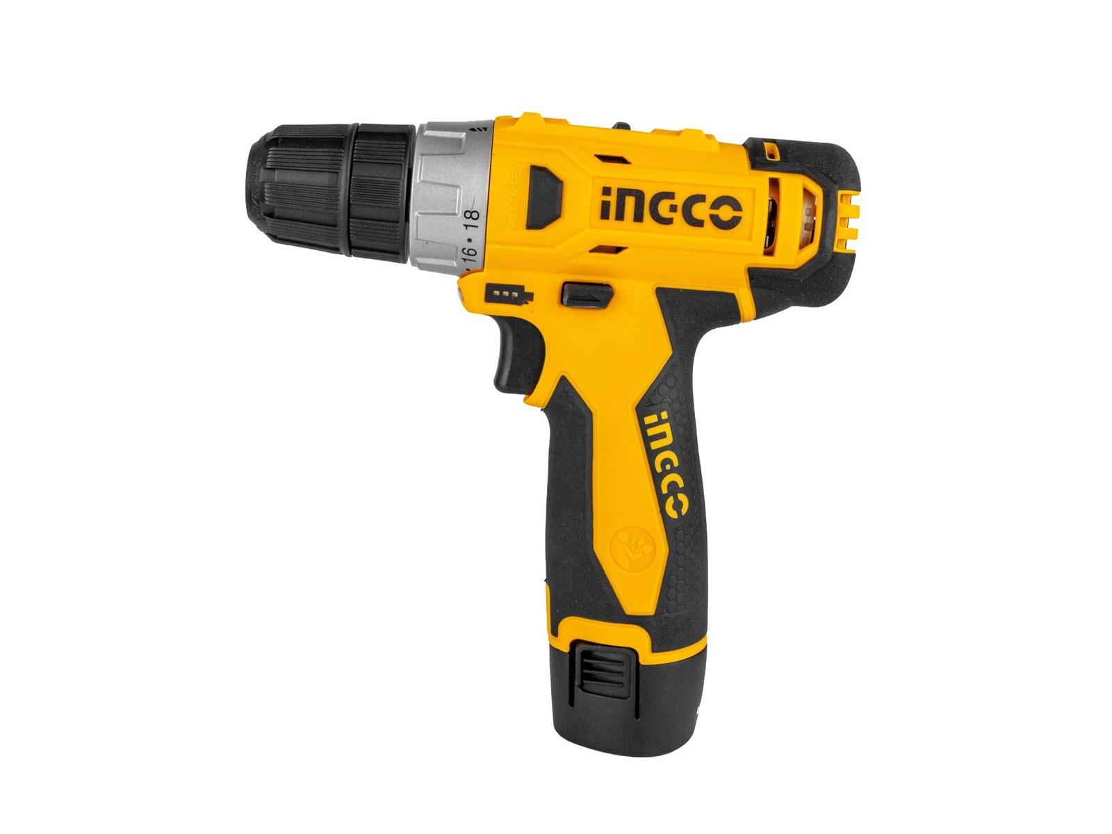 цена на Дрель-шуруповерт INGCO Аккумуляторный шуруповерт CDLI228120-2