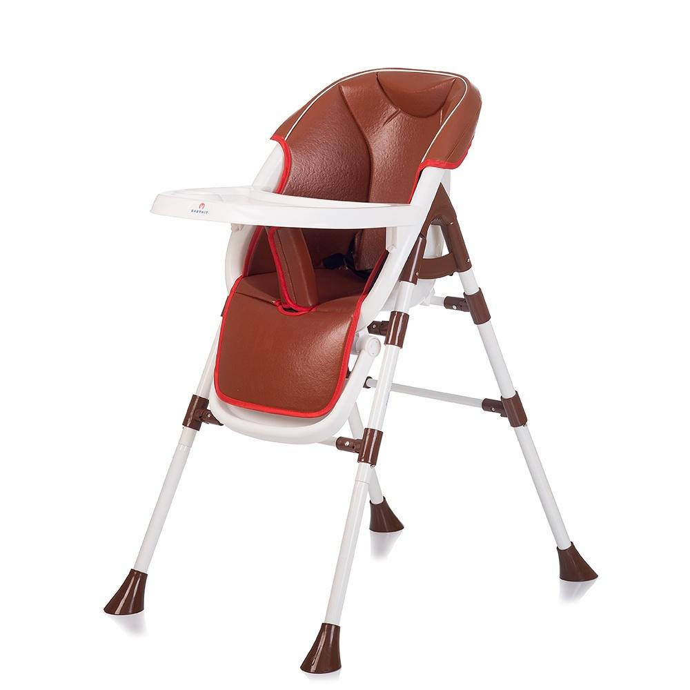 Стульчик для кормления Babyhit PANCAKE коричневый babyhit babyhit стульчик для кормления miracle серый