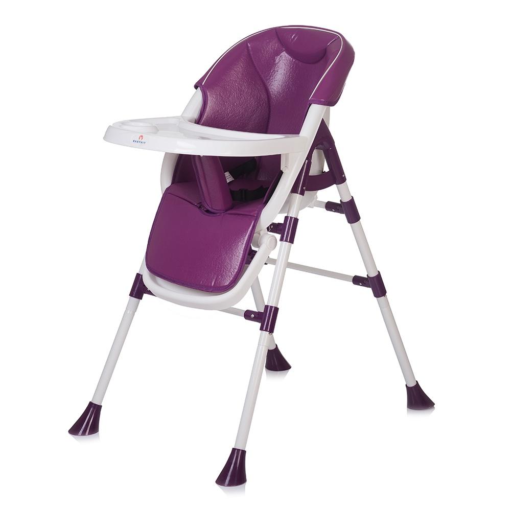 Стульчик для кормления Babyhit PANCAKE фиолетовый babyhit babyhit стульчик для кормления miracle серый
