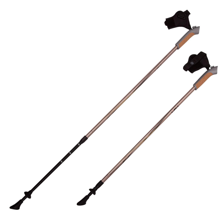 Палки для скандинавской ходьбы RGX NWS-03А, медь палки для скандинавской ходьбы komperdell carbon forza длина 120 см 2 шт
