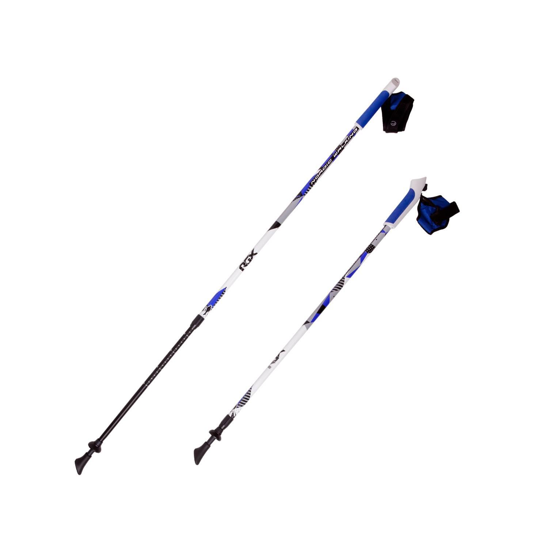 Палки для скандинавской ходьбы RGX NWS-16A, белый палки для скандинавской ходьбы komperdell carbon forza длина 120 см 2 шт