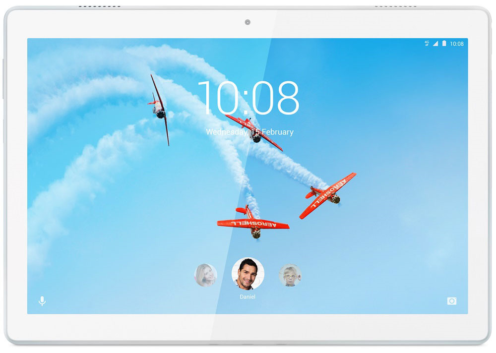 10.1 Планшет Lenovo Tab M10 TB-X605L 32 GB, белый lenovo tab4 tb 8704x [za2f0106ru] 8 ips 1920x1200 qualcomm msm8953 4gb 64gb 4g lte wifi bt sd android 7 0 white