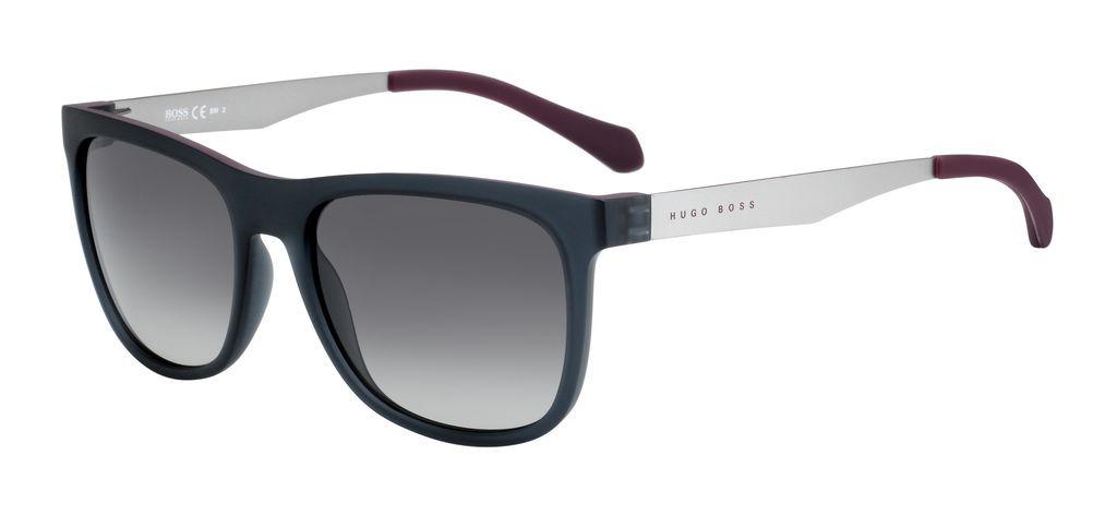 Очки солнцезащитные мужские Hugo Boss, HUB-23383705G55DX, серый