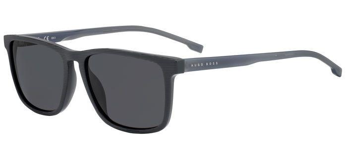 Очки солнцезащитные мужские Hugo Boss, HUB-200513PZH55IR, серый
