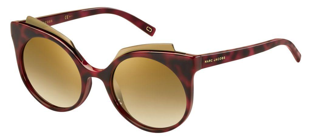 лучшая цена Очки солнцезащитные женские Marc Jacobs, JAC-223886N8S537B, красный