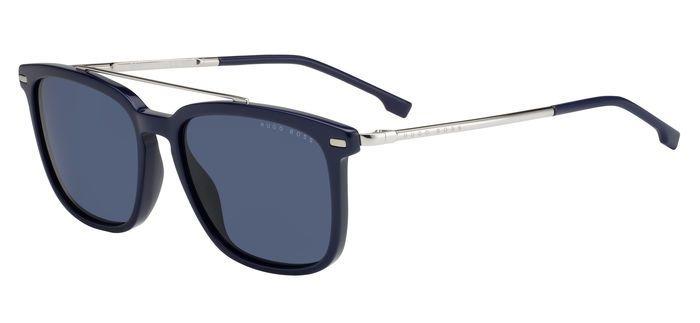 Очки солнцезащитные мужские Hugo Boss, HUB-200523PJP55KU, синий