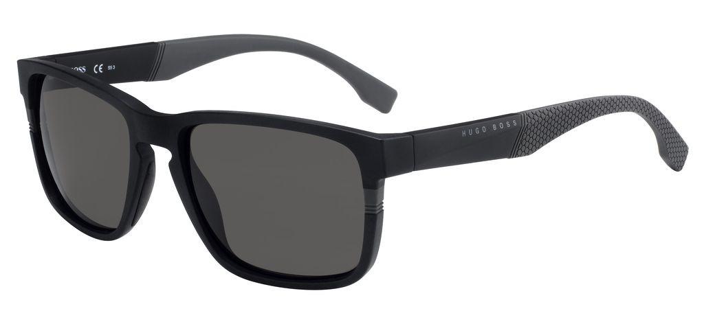 Очки солнцезащитные мужские Hugo Boss, HUB-2405261X157NR, черный