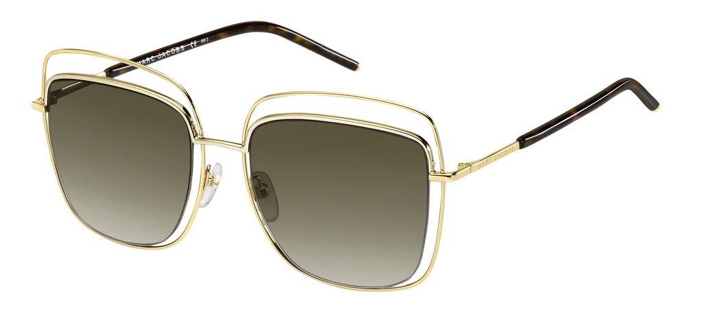 лучшая цена Очки солнцезащитные женские Marc Jacobs, JAC-233332APQ54HA, золотой