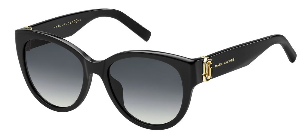 лучшая цена Очки солнцезащитные женские Marc Jacobs, JAC-200245807549O, черный