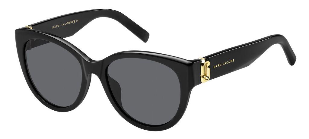 лучшая цена Очки солнцезащитные женские Marc Jacobs, JAC-20024580754IR, черный