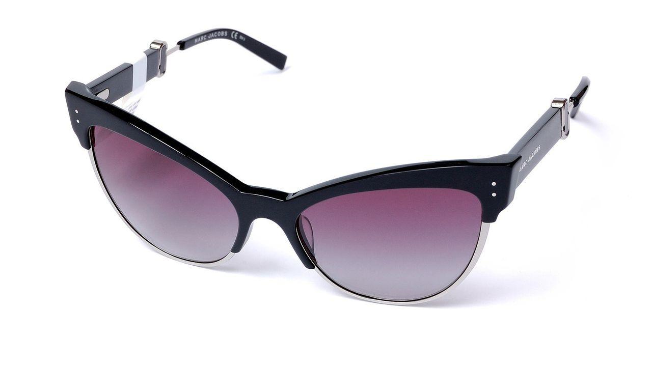лучшая цена Очки солнцезащитные женские Marc Jacobs, JAC-223897807559O, черный