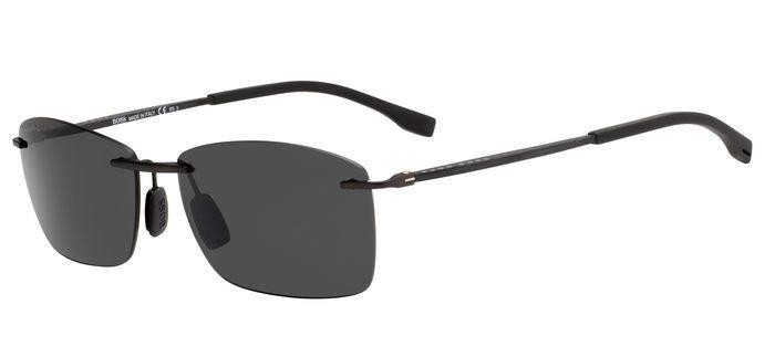 Очки солнцезащитные мужские Hugo Boss, HUB-2005752P46070, коричневый