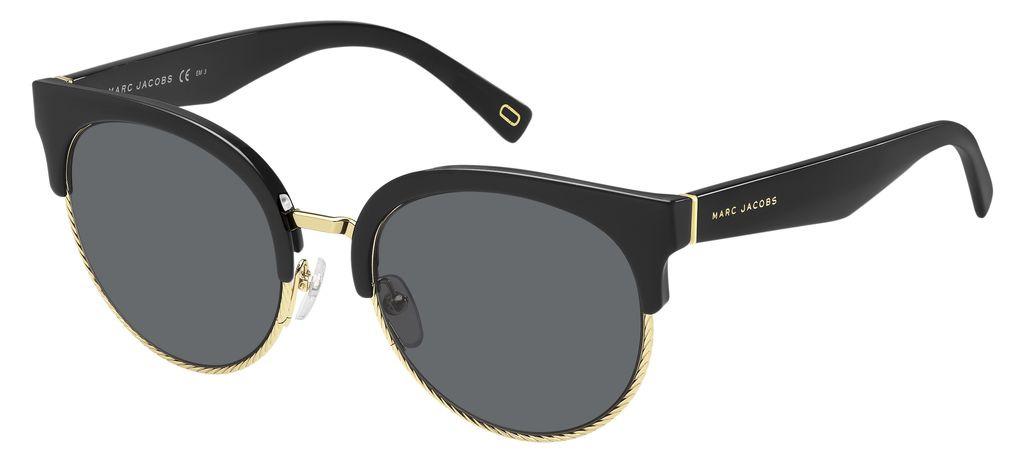 Очки солнцезащитные женские Marc Jacobs, JAC-20024780754IR, черный