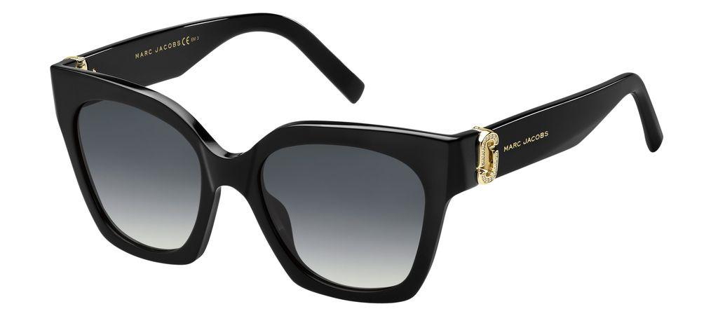 Очки солнцезащитные женские Marc Jacobs, JAC-200391807529O, черный