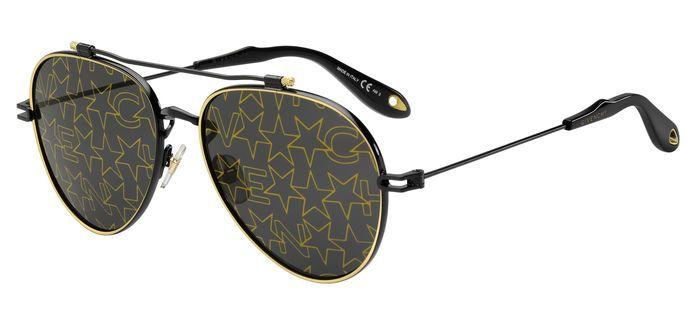 Очки солнцезащитные Givenchy, GIV-2001012M2587Y, черный givenchy подарочный набор givenchy 20b s