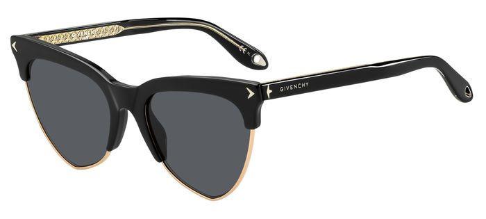 Очки солнцезащитные женские Givenchy, GIV-20058380754IR, черный givenchy подарочный набор givenchy 20b s