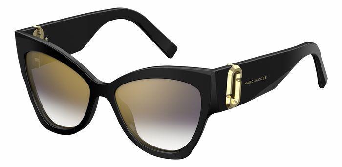 лучшая цена Очки солнцезащитные женские Marc Jacobs, JAC-22389080754FQ, черный
