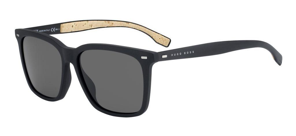 Очки солнцезащитные мужские Hugo Boss, HUB-2338430R556NR, коричневый