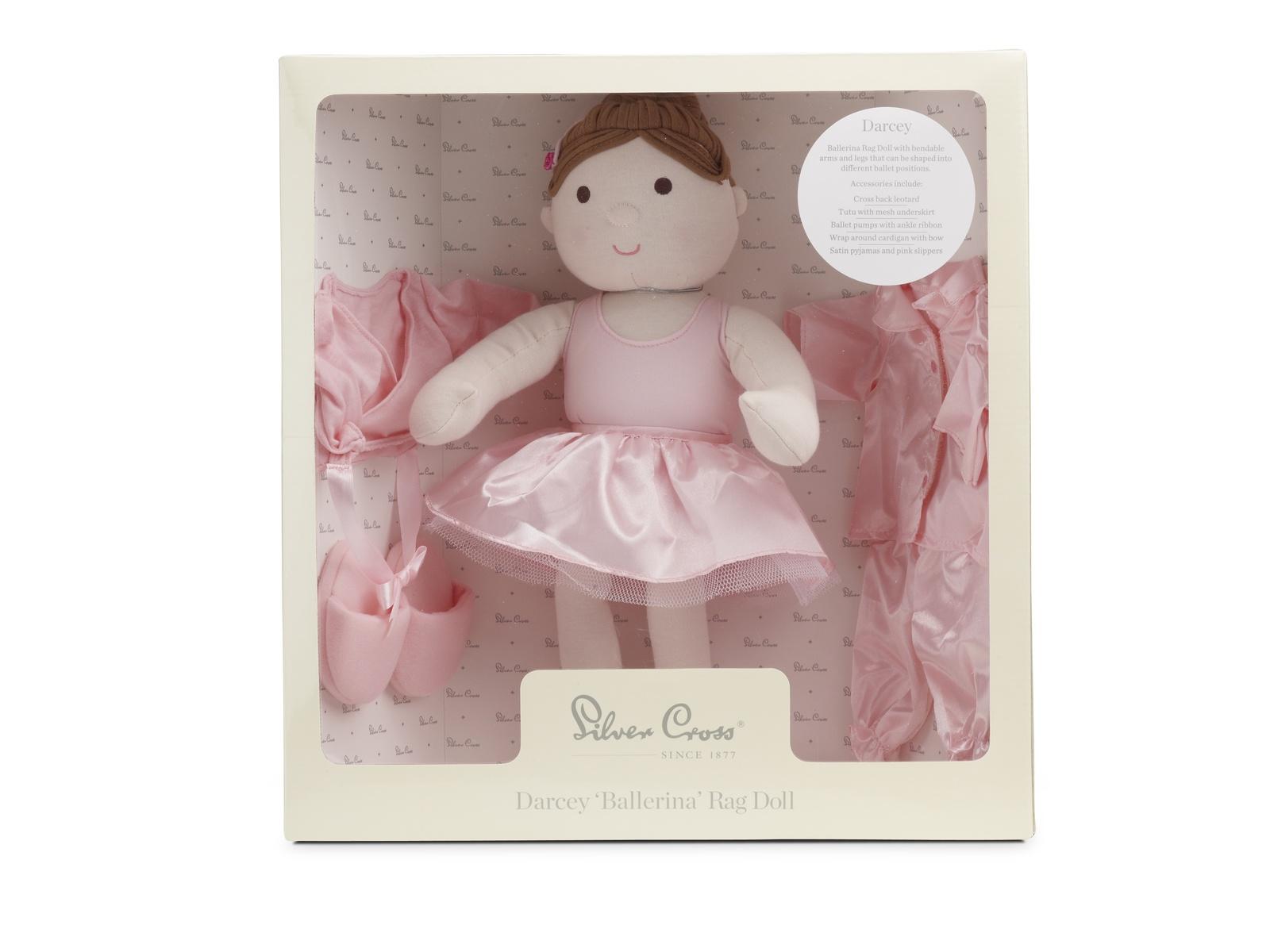 Кукла Silver Cross SX1005.43 розовый