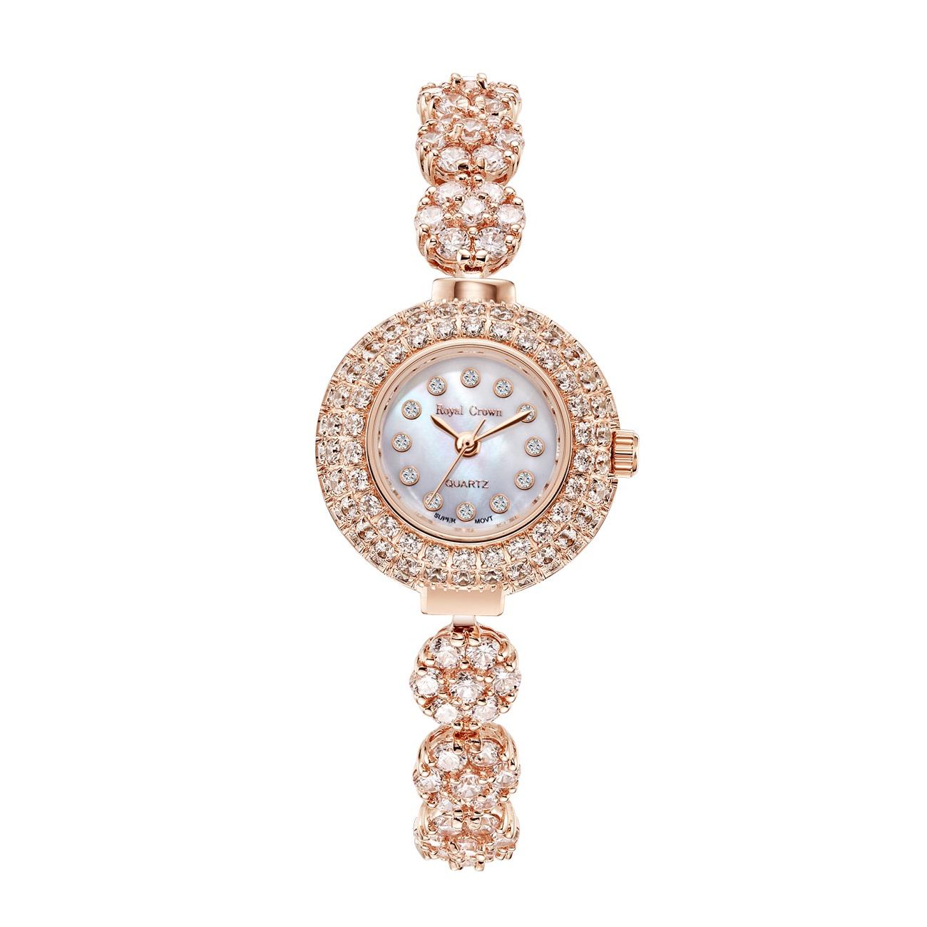 Часы Royal Crown 6201-B21-RSG-5