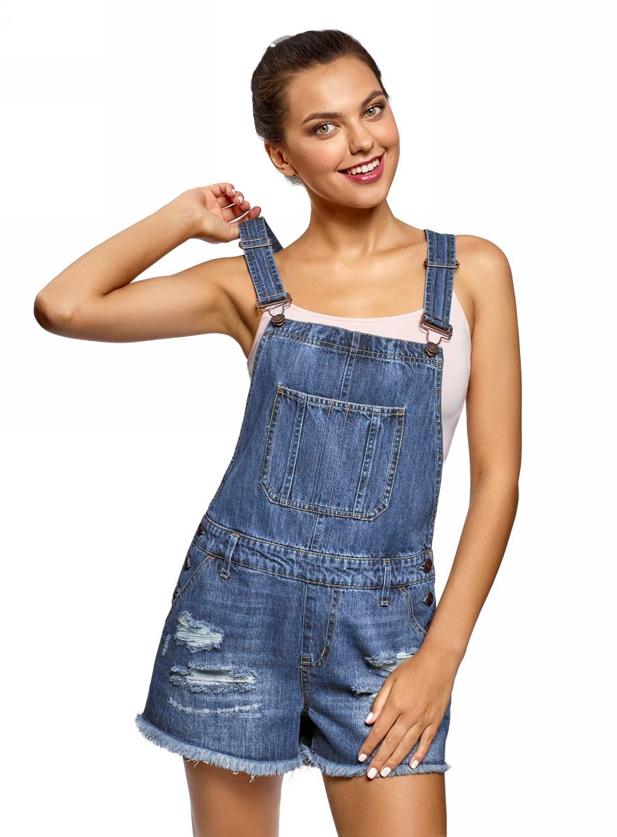 Комбинезон джинсовый женский картинки