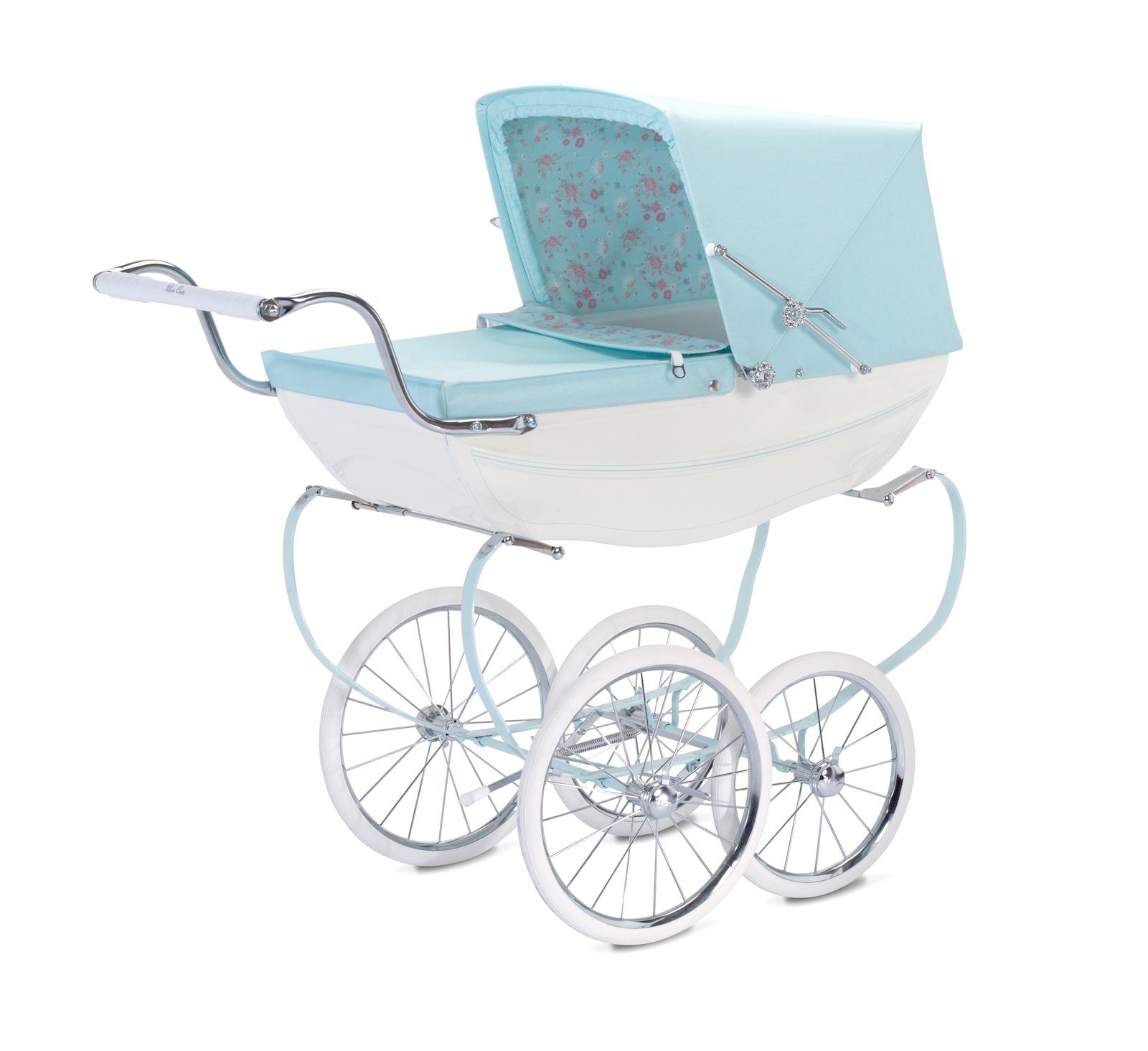 коляска для кукол Silver Cross SX6072.00 голубой цена 2017