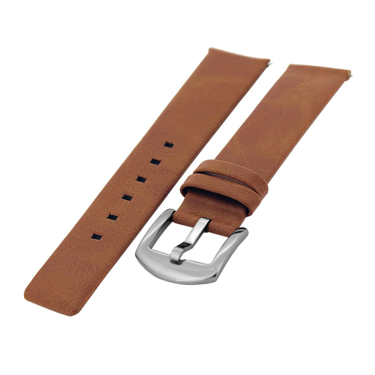 Ремешок для часов Mikhail Moskvin B1060S, светло-коричневый