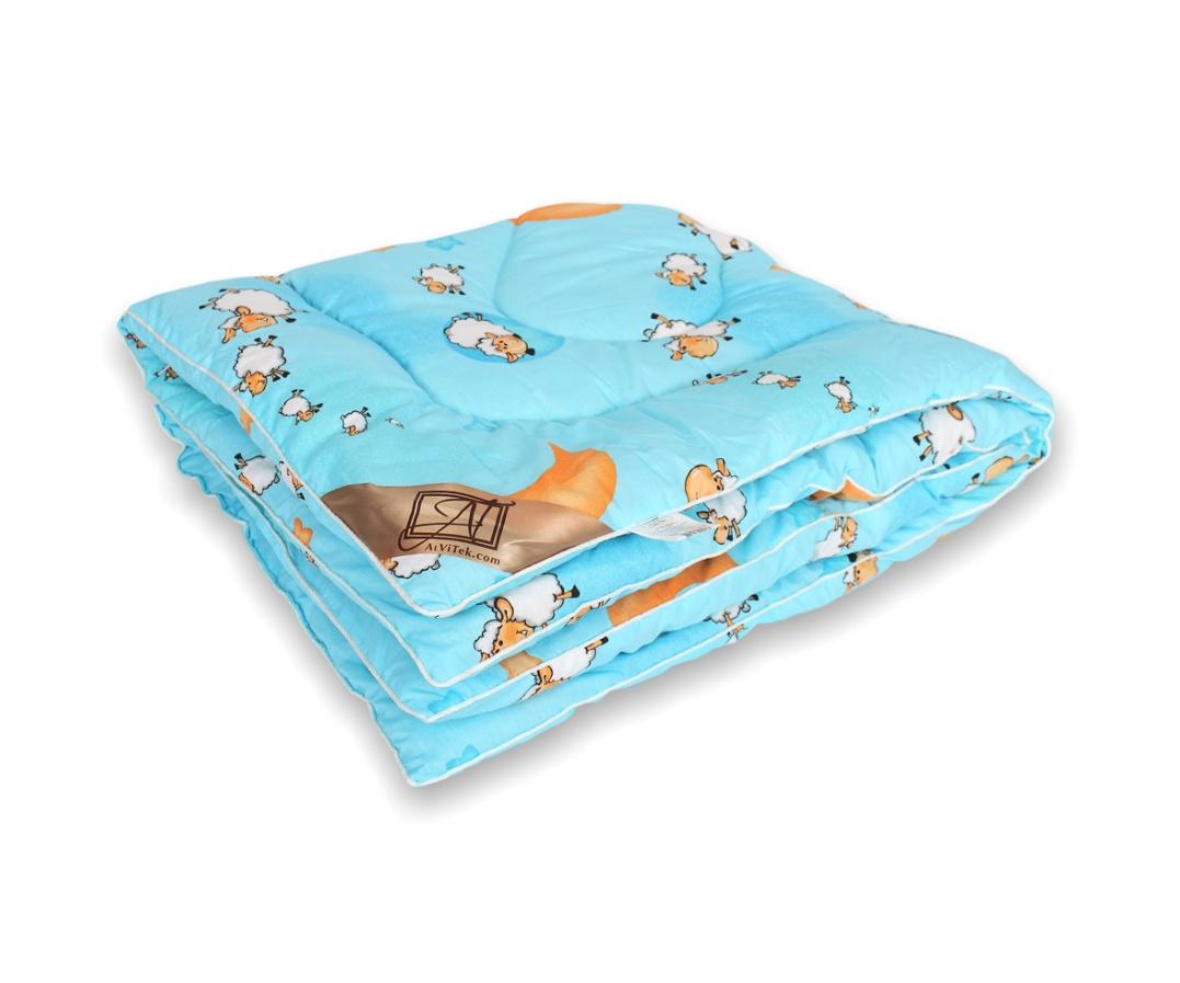 Фото - Одеяло детское Альвитек Овечка овечья шерсть, классическое одеяло овечья шерсть классическое альвитек размер 2 0