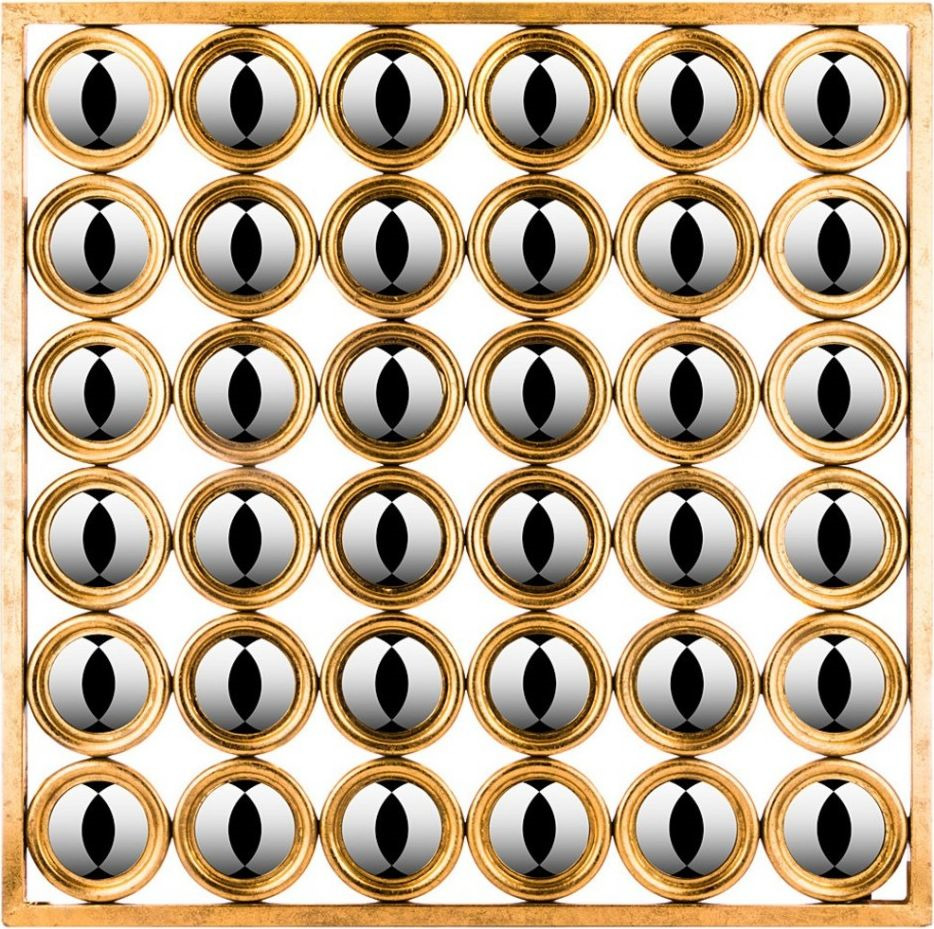 Панно интерьерное Lefard, 721-114, 102 х 2,5 х 102 см 5pcs saa6752hs saa6752hs 102 saa6752