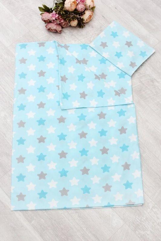 Комплект в кроватку AmaroBaby Time to Sleep Прянички, AMARO-3403-PG, голубой, 3 предмета