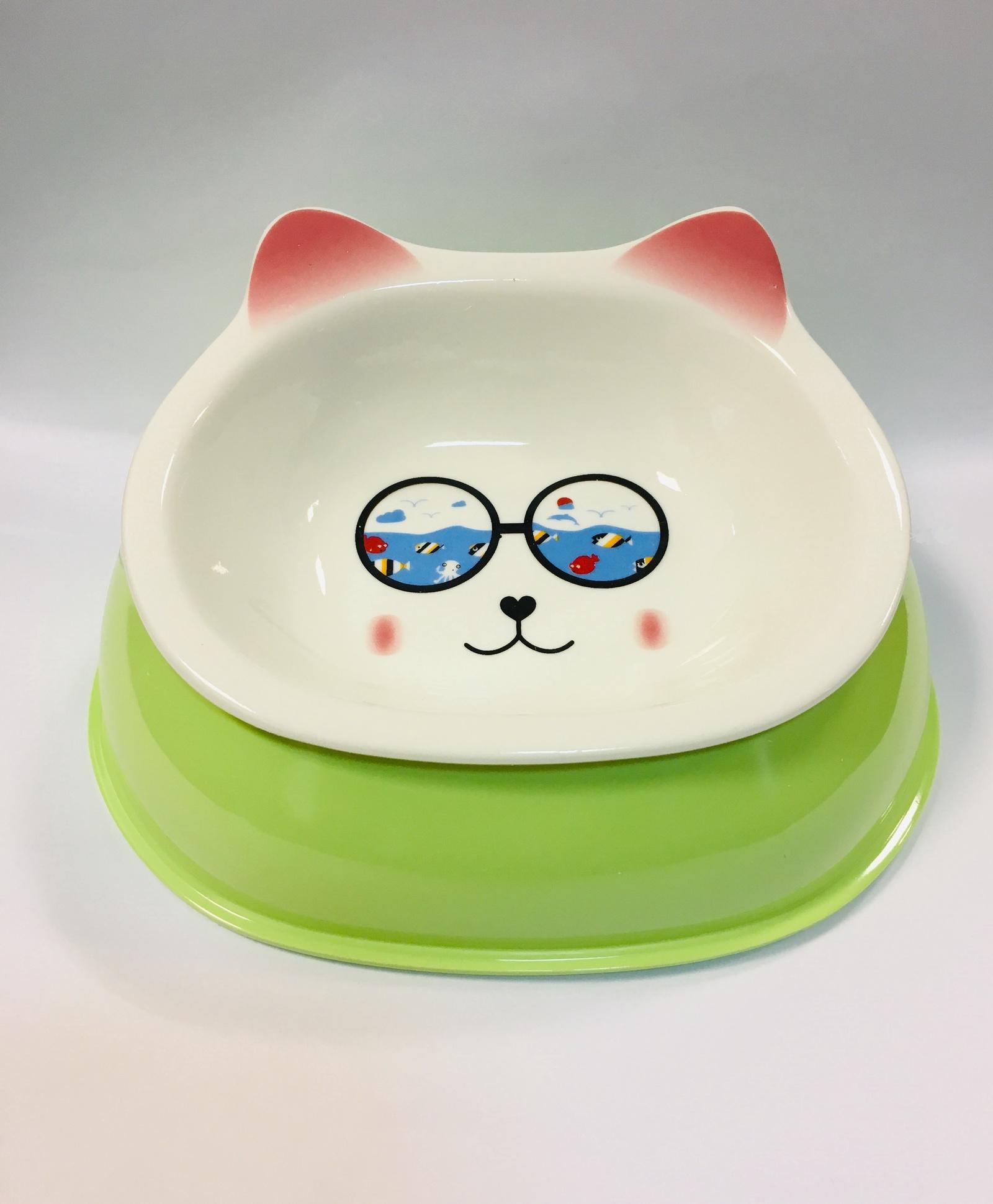 Миска для животных Pug & Pets Керамическая миска на подставке от Купить.ру