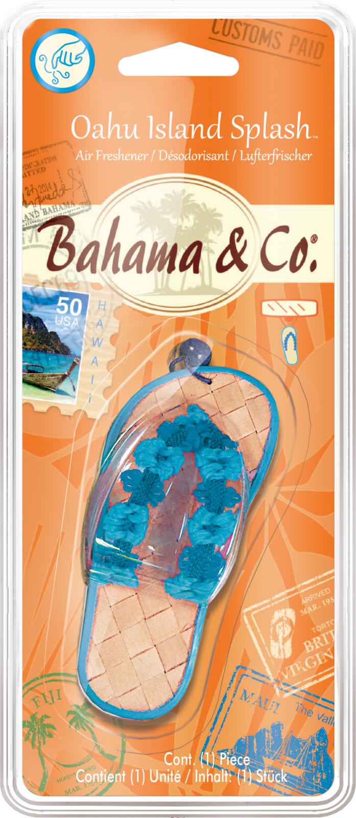 Освежитель воздуха автомобильный Bahama & Co. Пляжный тапочек - аромат с острова Oaxy, E301411800, 19 x 7,5 x 2,4 см