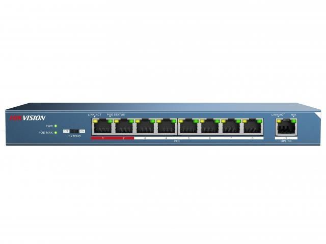 Коммутатор HIKVISION POE DS-3E0109P-E