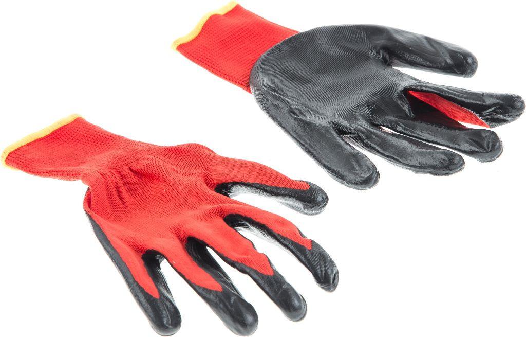 Спецодежда Hammer перчатки защитные boxer с облегченным нитриловым покрытием bxr2301sticker