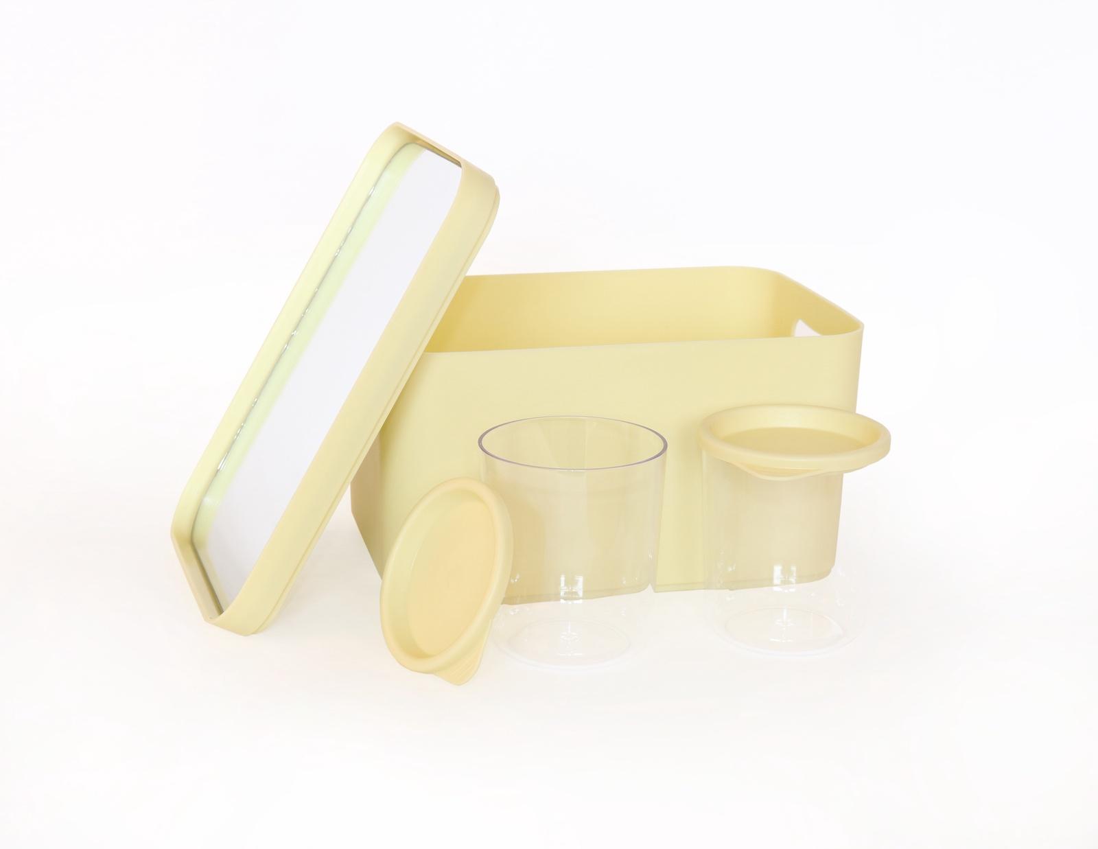 Органайзер для мелочей и косметики Berossi Eva, Пластик салатник berossi domino twist цвет снежно белый 0 7 л
