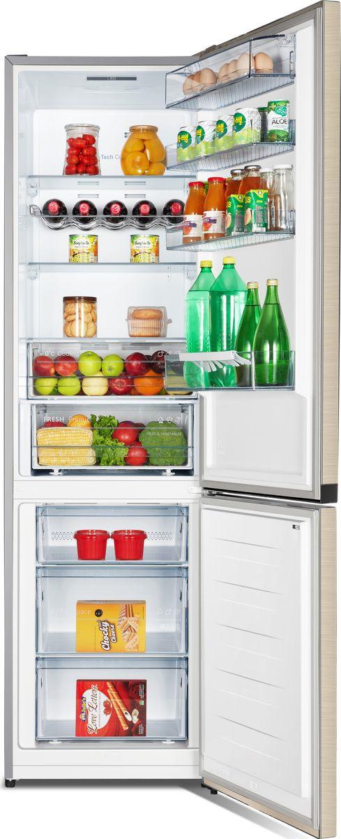 Холодильник Hisense RB438N4FY1, бежевый Hisense