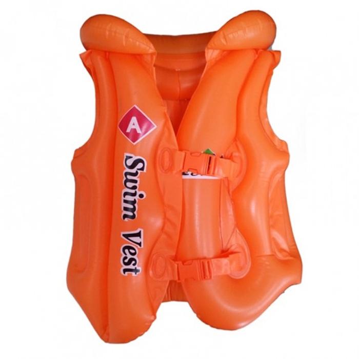 Жилет для плавания Надувной жилет, оранжевый жилет vitacci жилет