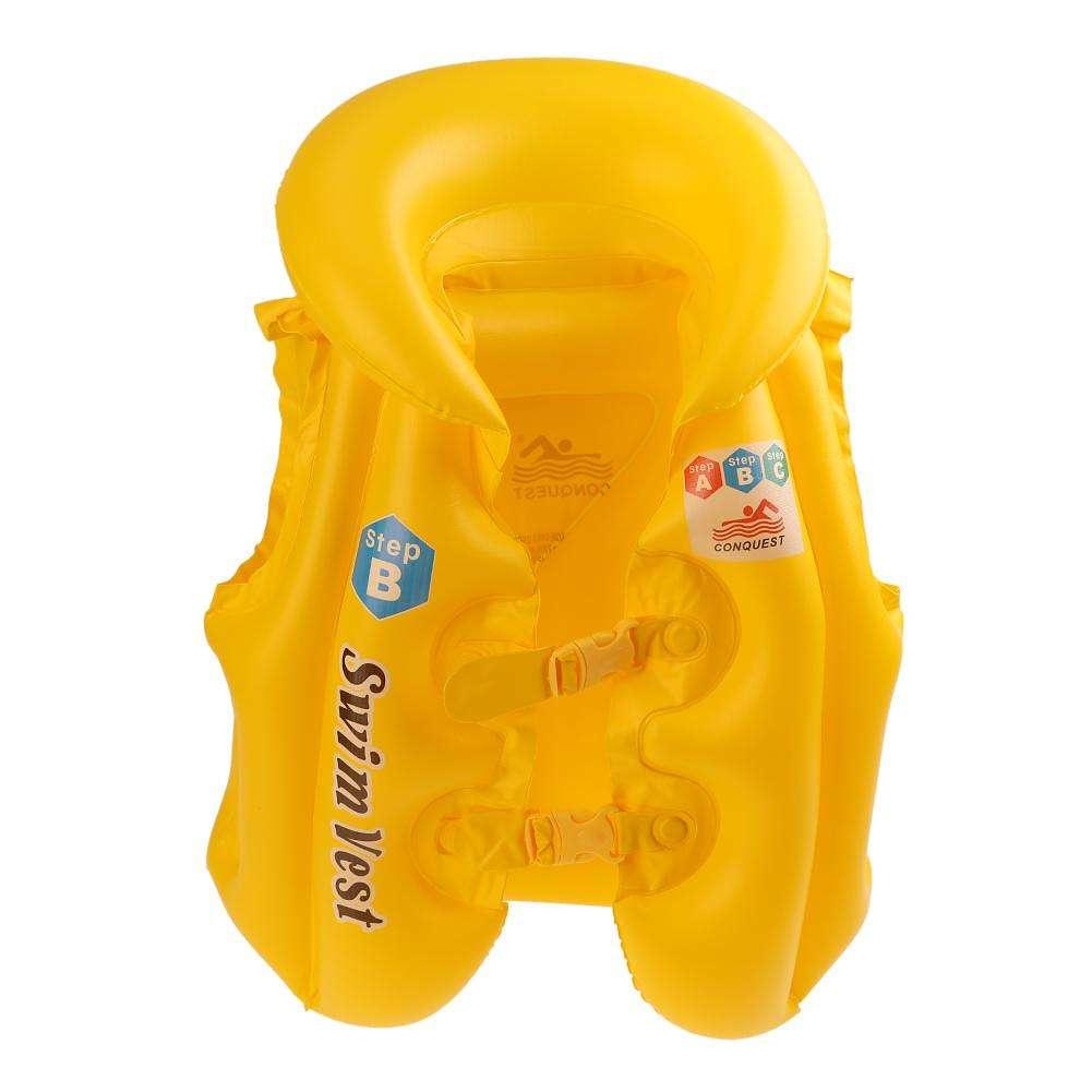 Жилет для плавания Водный жилет, желтый