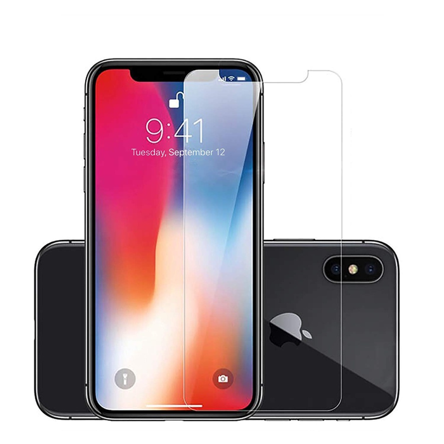 Защитное стекло AHORA для Apple IPhone X, Xs (Айфон 10, 10s) арт.GX-02-O, прозрачный
