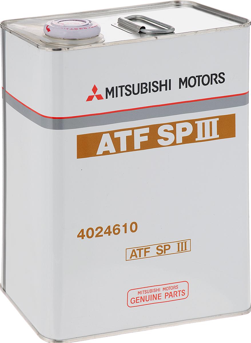 """Трансмиссионное масло для АКПП Mitsubishi """"ATF SP III"""", 4 л"""