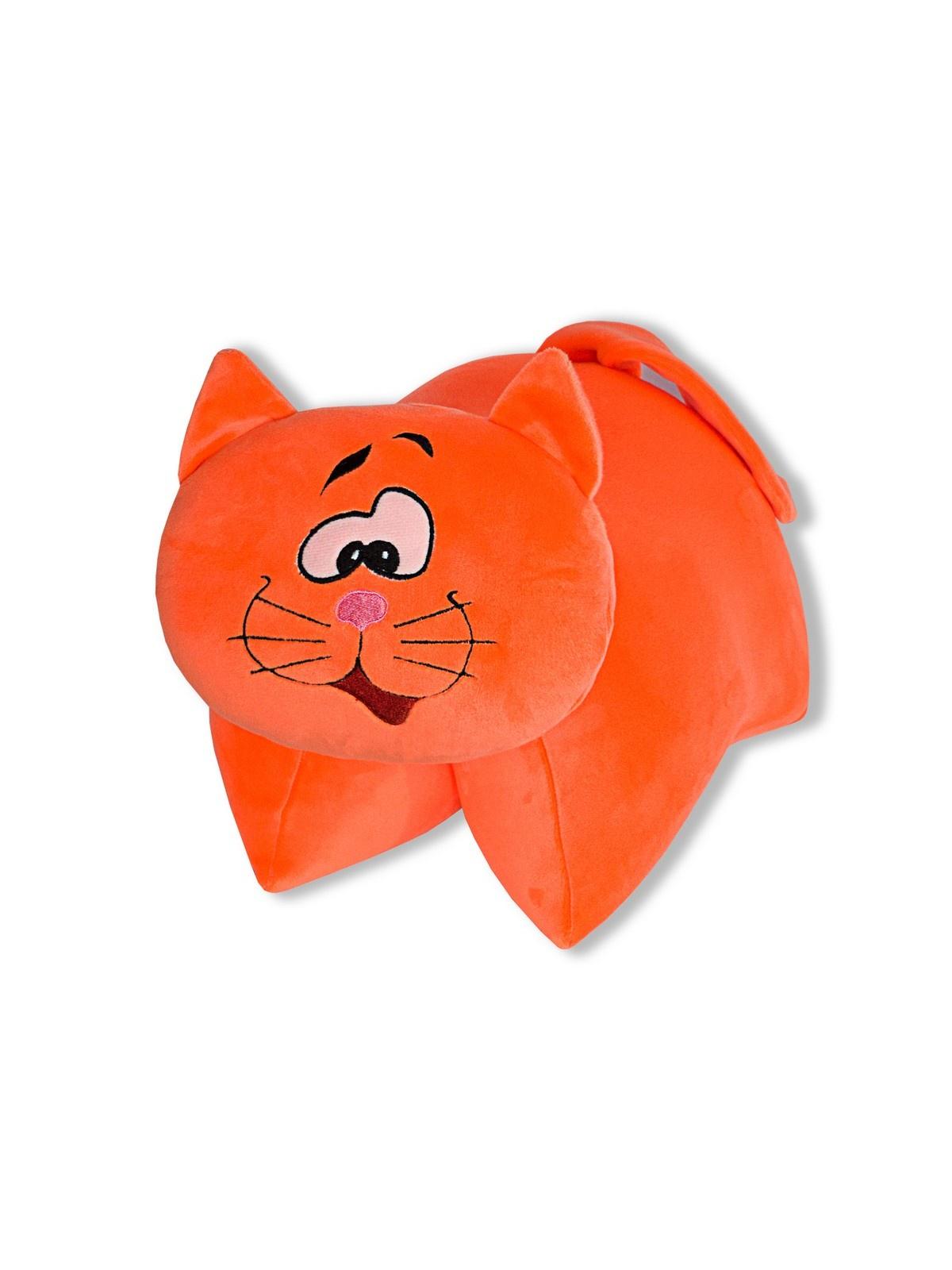 Штучки, к которым тянутся ручки Подушка-игрушка антистрессовая Трансформеры Кот