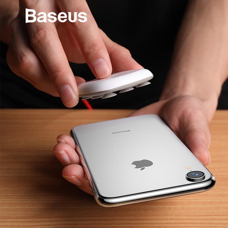 Фото - Беспроводное зарядное устройство Baseus fd276389-015c-4df7-802b-559f18600169, черный беспроводное зарядное устройство baseus 7d6d4d3a 61d8 47d6 a2f2 f06ce44bf257 черный