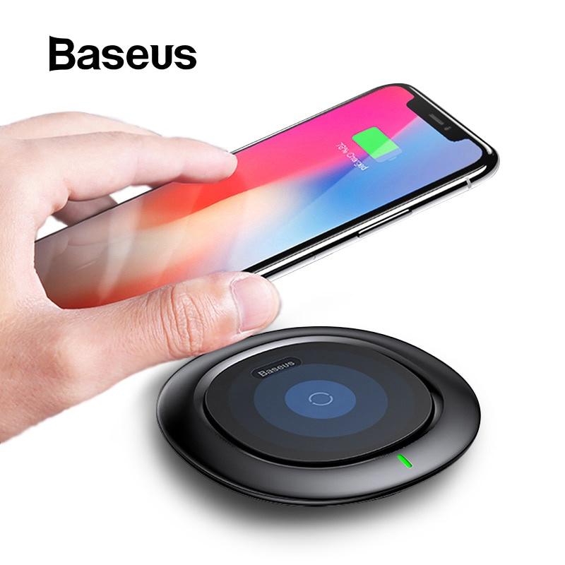 Фото - Беспроводное зарядное устройство Baseus 60909fb5-7e93-475f-9c95-aed4cdf42536, белый беспроводное зарядное устройство chocolate wireless charger input dc 5 0v 2 0a 9 0v 1 67a