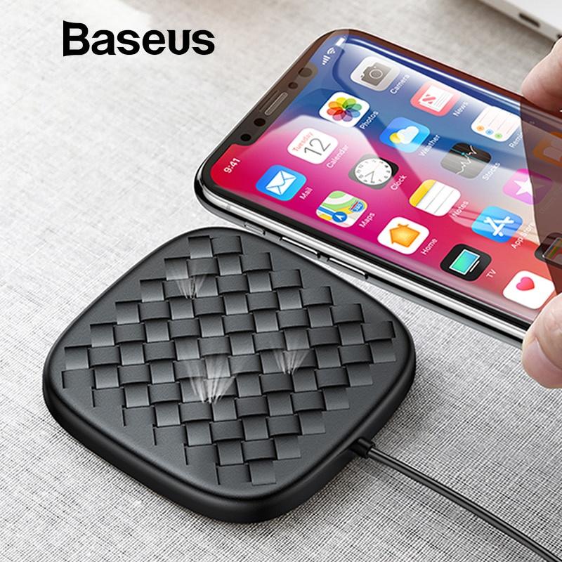 Беспроводное зарядное устройство Baseus bc0cd230-4c51-455c-8f98-a7efcf0a74ac, черный телефон зарядное устройство белый k088 сотовый capshi apple зарядное устройство 5v 2 4a подходит для huawei проса телефонов meizu oppo vivo samsung android