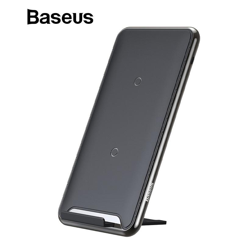 Фото - Беспроводное зарядное устройство Baseus 4c69de81-eb4f-4d89-883d-66d7da4bd734, черный беспроводное зарядное устройство baseus зарядное устройство power bank 10000 мач синий