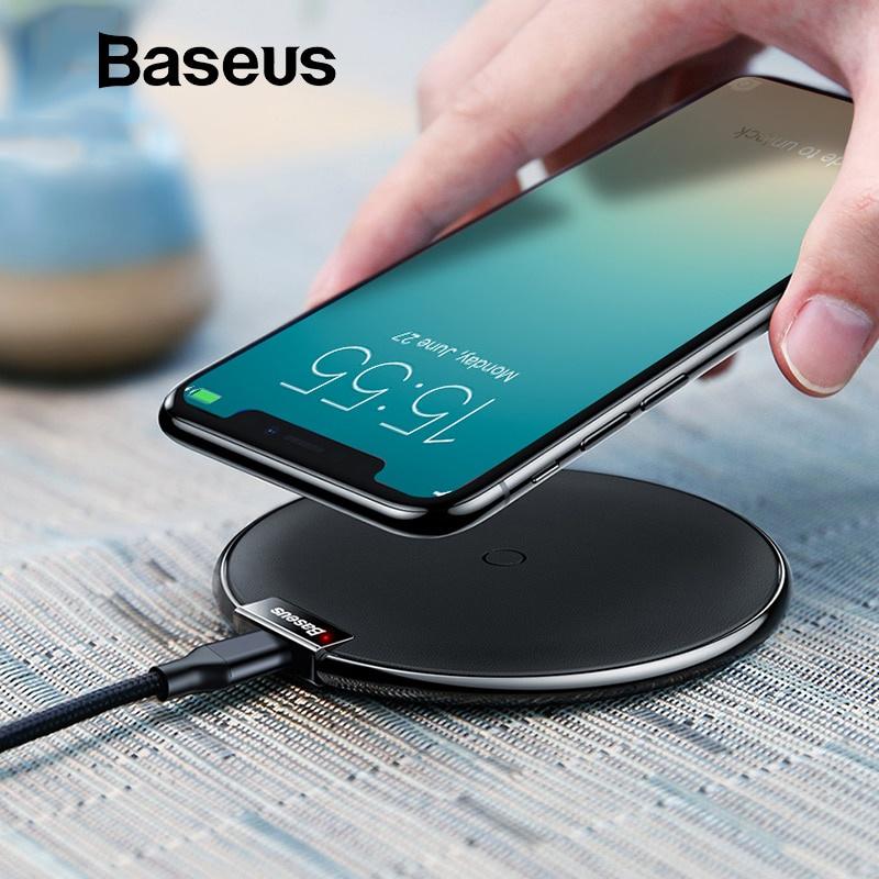 Фото - Беспроводное зарядное устройство Baseus 851ce2a5-6461-463d-836a-b8df8bd0c2a5, белый беспроводное зарядное устройство buro qf3 qc3 0 1 2a usb черный