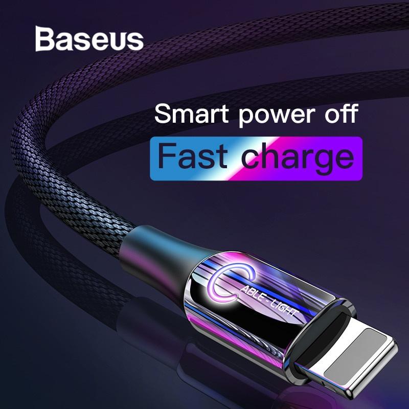 Зарядное устройство Baseus USB-зарядный кабель для iPhone, сиреневый цена