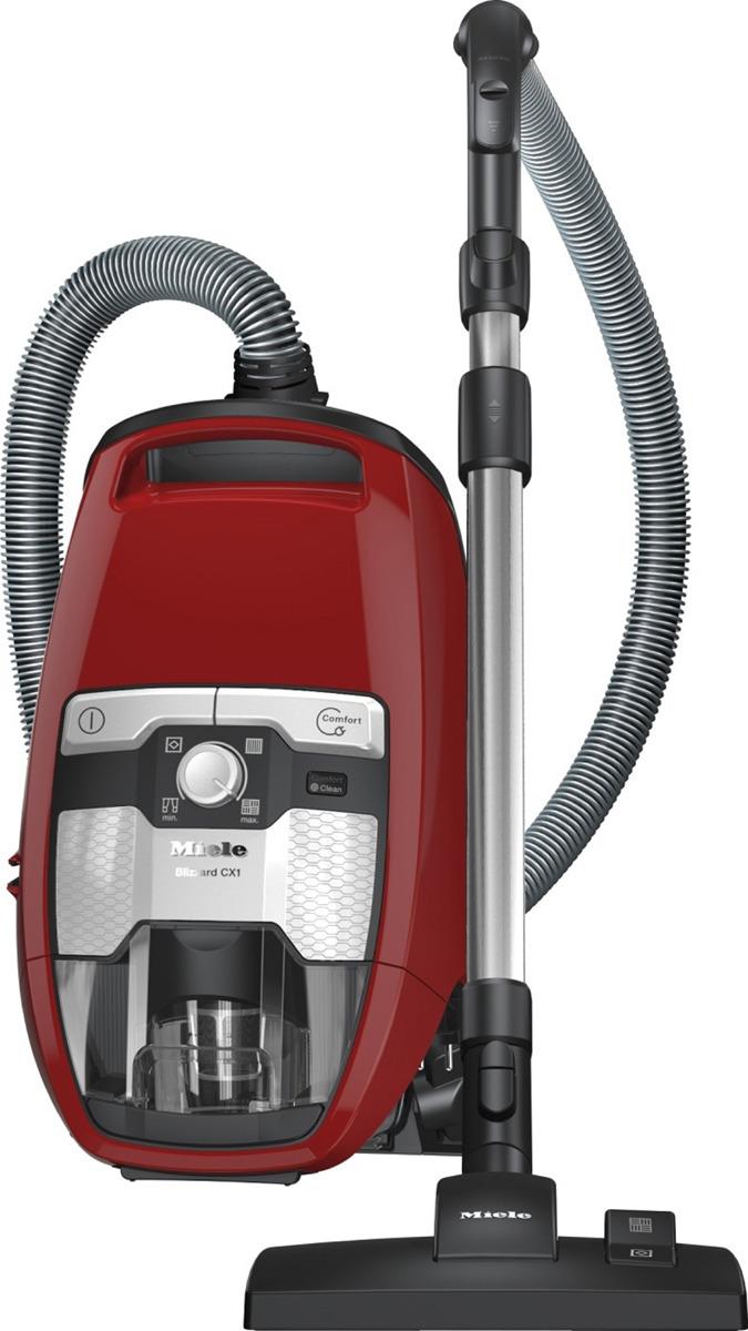 Пылесос Miele SKRR3 Blizzard CX1 Red PowerLine, красный miele sdmb0 comfort