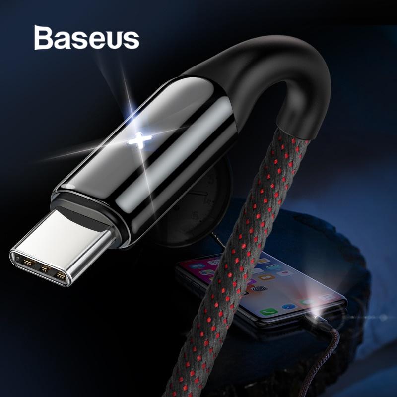 Кабель Baseus USB Type C зарядный, красный цена