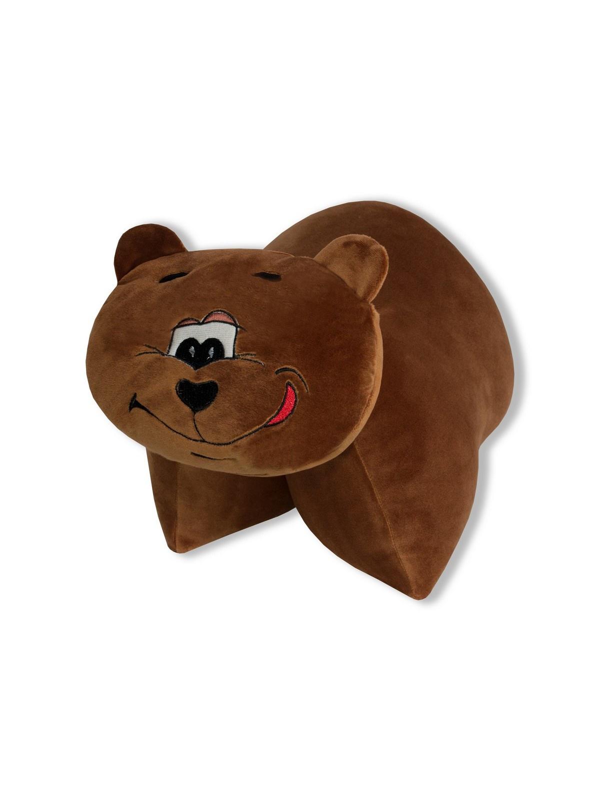 Штучки, к которым тянутся ручки Подушка-игрушка антистрессовая Трансформеры Медведь